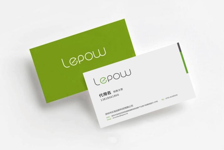 乐泡lepow企业品牌设计运用图