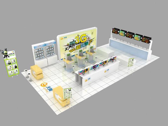 展馆立体图展示。